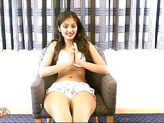 Sexy indian babe divya masturbating