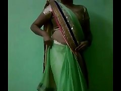 Indian bhabhi in sari stripping naked - indianhiddencams.com