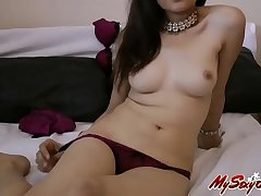 Hot sexy indian amateur babe jasmine in hot lingerie teasing