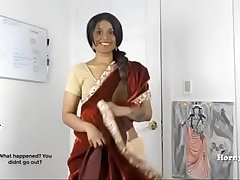 Horny lily south indian sister in law role play with tamil dirty talking